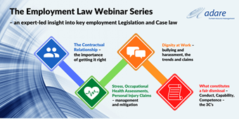 Adare Human Resource Management - the Employment Law Webinar Series